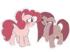 #1172865 - artist:umeguru, pinkamena diane pie, pinkie pie, safe, solo - Derpibooru - My Little Pony: Friendship is Magic Imageboard