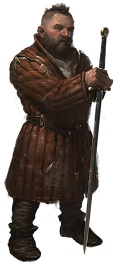 """Zoltan Chivay from """"The Witcher 2"""""""