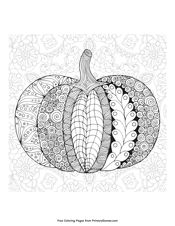 Free printable Fall coloring pages for use in your classroom or home from PrimaryGames. Pumpkin Coloring Pages, Fall Coloring Pages, Adult Coloring Pages, Coloring Sheets, Coloring Books, Pumpkin Pictures, Pumpkin Stencil, Tangle Art, Pumpkin Colors