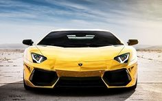 Gold-Plated Lamborghini Model Car Worth $7.5M up for Auction in Dubai