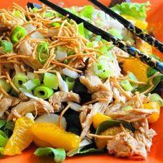 Asian Chicken Salad with Mandarin Oranges
