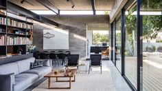 Concrete house offers indoor-outdoor living among fruit trees - Curbedclockmenumore-arrow : Ahh...