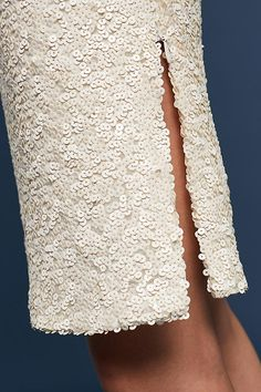Slide View: 4: Sequined Sheath Dress