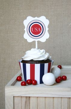 Free 4th of July Printables by The TomKat Studio for HGTV!