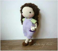 Crochet doll by Rusi