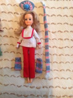 Dutch sindy doll amp old clothes barbie size old ash blonde 11 75 4