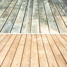 This deck cleaner and brightener works like magic, making wood look new again! I'll show you how to get your deck ready for new stain without back-breaking scrubbing or sanding. I've been putting off the Grey Deck Stain, How To Clean Aluminum, Deck Maintenance, Deck Cleaner, Used Kitchen Cabinets, Build A Fireplace, Cedar Deck, Oak Trim, Deck Design