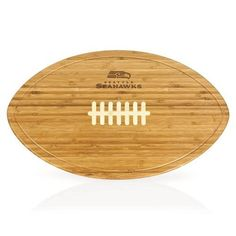 Seattle Seahawks Kickoff Party Platter & Serving Tray w/Laser Engraving
