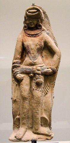 From Wikiwand: Shunga fecundity deity. 2nd–1st century BCE.