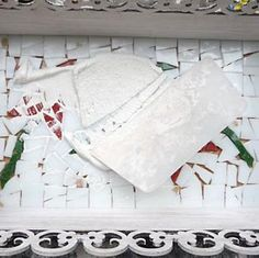 Aplique rejunte depois do mosaico seco