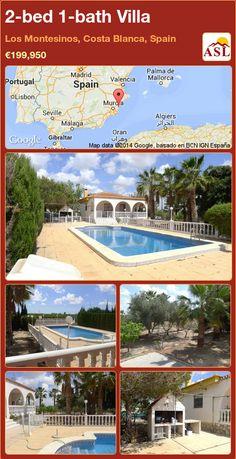 2-bed 1-bath Villa in Los Montesinos, Costa Blanca, Spain ►€199,950 #PropertyForSaleInSpain