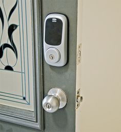 Replace your old deadlock with one which has an electronic keypad so all you need is a code to enter your home.