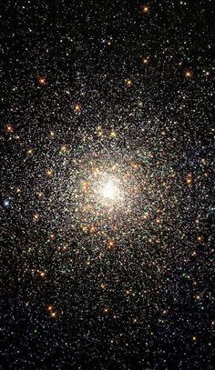 At the center of Messier 80, a globular star cluster in Scorpius-Messier 80 (NGC 6093) is a globular star cluster with a diameter of approximately 95 light-years, about 32,600 light-yrs away in the constellation Scorpius.