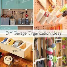 Roundup: 10 DIY Garage Organization Ideas that will make your garage say 'Ahhhhh...'