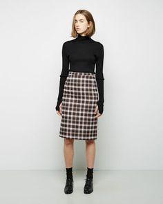 A DÉTACHER  Silas Check Skirt