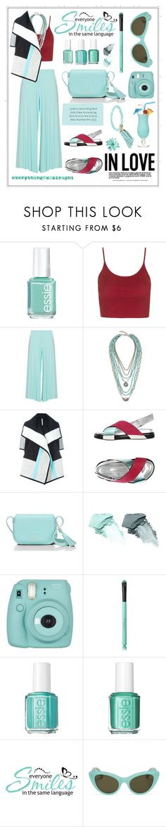 """""""Untitled #311"""" by meryflower ❤ liked on Polyvore featuring Essie, Topshop, Peter Luft, Lucky Brand, Antonio Marras, Kate Spade, NARS Cosmetics, Fujifilm, Tiffany & Co. and ALDO"""