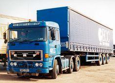 Classic Trucks, Old Trucks, Buses, Cornwall, British, Clay, The Unit, Big, Vintage
