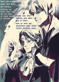 PruAus Headcanons - There was a time where they almost got married....
