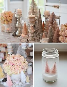 rustic winter party - Google Search