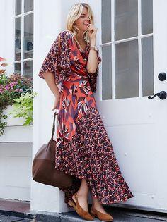 Logan Dress | Velvet mini dress with pretty floral pattern throughout. Femme plunging V-neckline and sultry side slit. Hidden back zipper closure.…