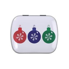 Christmas Baubles Candy Tin #Christmas #Baubles #Candy #Tin