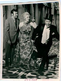 With Jim Nabors and Frank Sutton (1969)