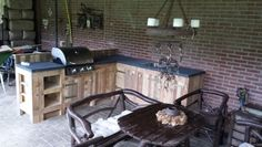 Buiten keuken, made by Job