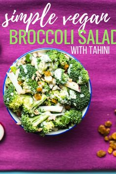 Simple Vegan Broccol