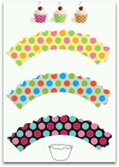 Cupcake Wrapper Templates Cupcake Wrappers And Templates
