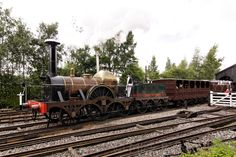 GWS Broad Gauge Replica 2-2-2 Fire Fly at Discot