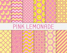 www.easyfreepatterns.com patterns 228 -pink-a-nd-yellow-patterns-lemon-clipart-summer-backgrounds-polka-228318.jpg
