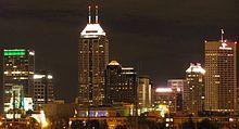 Indianapolis at night :)