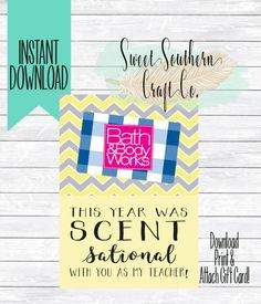 """""""Scent"""" Sational Appreciation Tags 