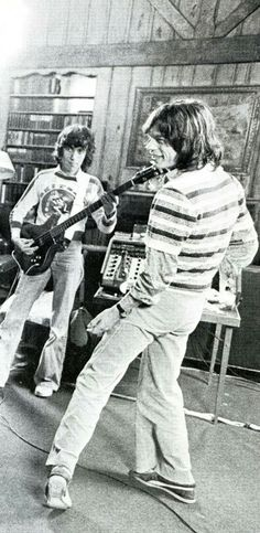 Bill Wyman and Mick Jagger, The Rolling Stones