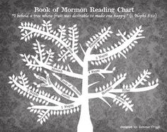 CUTE Book of Mormon Reading Chart!