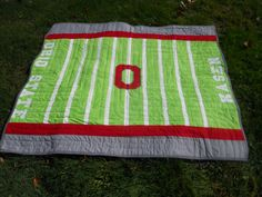 ohio+state+quilts | ... Blog: Totally Groovy Ohio State Quilt Finish! & Giveaway Announcement