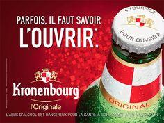 Campagnes d'affichage - Kronenbourg (bière) | Agence : La Chose, Paris, France