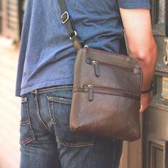 Osgoode Marley // Instagram: @OsgoodeMarley Men Bags, Leather Bag, Messenger Bag, Satchel, Instagram, Fashion, Men, Fossils, Bags For Men