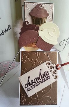 Chocolate Lovers Pop Up Box Card Happy Birthday With Love Can Be Personalised £4.50