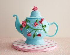 Tea Pot Cake How-To