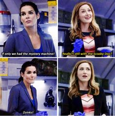 Rizzoli and Isles. This episode made me laugh and laugh!