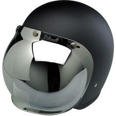 Biltwell Inc. / Biltwell Bubble Shield - Chrome Mirror