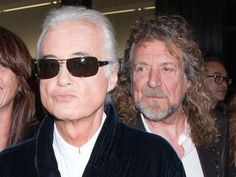 Robert Plant and Jimmy Page (I see ur eyes thru the glasses lookin thru my soul)