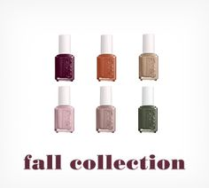 essie new fall nail colors