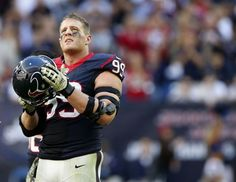 After one of the most dominant seasons by a defender in NFL history, J.J. Watt gets Chronicle writer John McClain's vote for league MVP. Photo: Karen Warren, Houston Chronicle