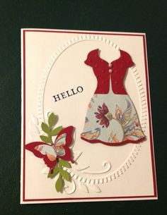 All Dressed Up by bethsuhr - Cards and Paper Crafts at Splitcoaststampers