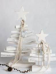 Resultado de imagen de decoracion de navidad con madera