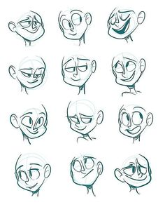 Drawing Cartoon Characters Animation Sketches Best Ideas, Drawing C.You can find Animation and more on our . Cartoon Faces Expressions, Drawing Face Expressions, Drawing Cartoon Characters, Cartoon Art Styles, Cartoon Expression, Drawing Cartoon People, How To Draw Characters, Disney Expressions, Drawing People Faces