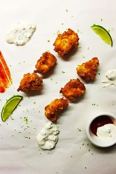 Happy Hour Chicken Nuggets - This is our grown up recipe that we call our %u201Chappy hour%u201D chicken nuggets, since we batter them in beer, double dip them in seasoned flour and saltines, and then get tipsy on sheer joy. It%u2019s time you join in the fun too.