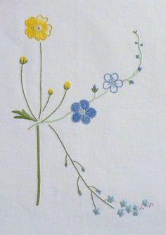 Field Flowers Alphabet - K
